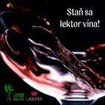Lektor vína 2018