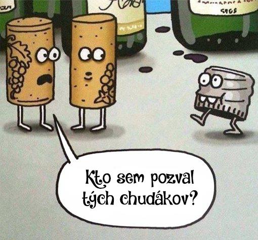Uzavery na vino - vtip